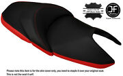 Red And Black Custom Fits Honda Nss 300 Forza Dual Leather Seat Cover