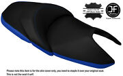 Royal Blue And Black Custom Fits Honda Nss 300 Forza Dual Leather Seat Cover