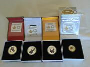 Canada 2015 Superman Coins All 4 Coin Set Including The Gold Coin