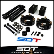 3 Front 1 Rear Complete Leveling Lift Kit Diff Drop For 07-20 Toyota Tundra
