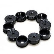 Heyco 1 Inch Black Slotted Wiring Grommets Set Of 10 Marine Boat