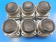 Porsche 911 964 3.6 Oem Set Of Early Mahle Pistons And Cylinders Great Condition