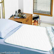 4 New Bed Pads Reusable Underpads 34x36 Hospital Grade Incontinence Washable