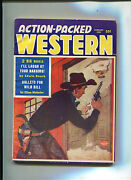 Action-packed Western 1/1958 Very Fine Wild Bill Hickock Custer Htf Pulp