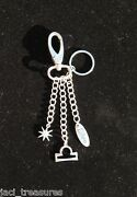 Libra Astrology Keychain Elements Charms