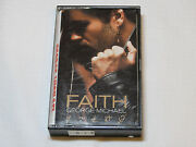 Faith By George Michael Cassette Tape 1987 Columbia Records Usa Oct40867