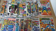 Fantastic Four Comic Lot Of 60 201-309 Mostly Vf Bagged Annuals 12-15 17 19 20