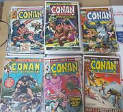 Awesome Conan The Barbarian Comic Lot Of 114 16-217 Fn-vf Bagged Boarded 16 21