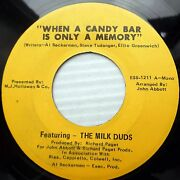 When A Candy Bar Is Only A Memory 45 Feat.the Milk Duds Radio Ad Jingle E0788
