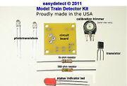 S Scale Bi-directional Model Train Detector Kit For Crossing Flashers And More