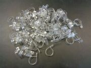 Cable Clamps Set Of 100 Clear 1 1/8 Id Marine Boat