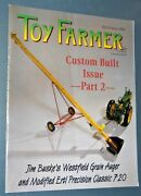 The Toy Farmer Magazine Sep 2001 Model T Ford The Tin Lizzie Scratch Building