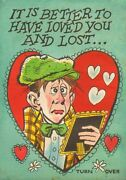 Funny Valentines Topps Original Card Art - 1960and039s Art By Jack Davis