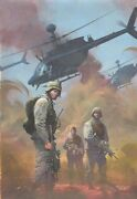 Combat Zone True Tales Of Gis In Iraq 1 Painted Cover - 2005 Art By Esad Ribic
