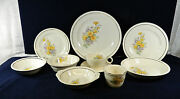 80-pieces Or Less Of Universal Upico Ivory Uni177 Pattern Vintage China