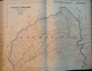 1895 Pittsburgh Pennsylvania Plum And Patton Townships Saunders Station Atlas Map