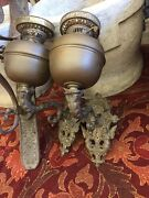 Victorian Kerosene Wall Sconces Made In England