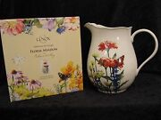 Lenox Floral Meadow Pitcher - Signed