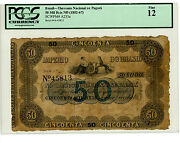 Brazil Andhellip P-a233 Andhellip 50 Mil Reis Andhellip Nd1952-67 Andhellip F Pcgs 12.