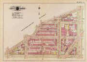 1917 Washington D.c. N.w, Florida Av To T St And 16th St To 19 Th St Atlas Map