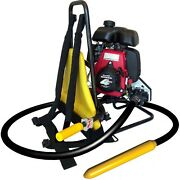 Oztec Gas Concrete Vibrator Honda 2.5 Hp W/quick Disconnect 2.5 Head 10and039 Shaft