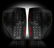 2009-2014 Ford F150 And Svt Raptor Rear Led Rear Tail Lights Lamps Smoked Lenses