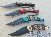 4 X 8.25 Feather Spring Assisted Folding Knife Blade Pocket Open Switch