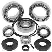 New 2000-2006 Honda Trx350fm/fe Rancher Es Rear Diff Bearing And Seal Kit