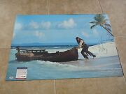 Johnny Depp Pirates Museum Piece Signed Autographed 20x30 Photo Psa Certified 2