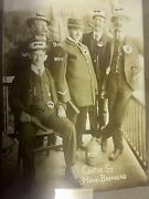 Rare Early Police Photo Home Breakers Jug Of Rumbillyclubguns