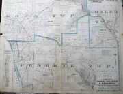 Orig 1906 G.m. Hopkins North Pittsburgh Ross Shaler And Reserve Twps Pa. Atlas Map