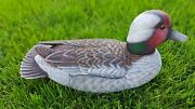 Collectible Decoy Goose Duck Hand Carved Wooden Goose Duck Decoy