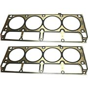 New Set Of 2 Cylinder Head Gaskets Engine For Chevy Express Van Suburban Pair