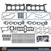 Head Gasket Set And Bolts 01-02 Ford Crown Victoria F-150 Expedition Mustang 4.6l