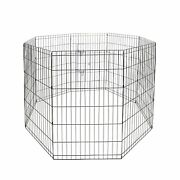 48 Tall Animal Pet Dog Puppy Cat Folding Play Pen Exercise Cages Crates Fence