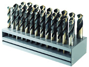 Morse Cutting Tool 18112 33pc. Drill Set 1/2 To 1 X 64ths Made In Usa