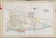 1911 Westchester Ny Ossining Nelson Park Sing Sing Prison Bromley Copy Atlas Map