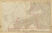 1906 Union Township New Jersey Roselle Park And Warren Station Copy Atlas Map