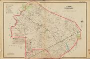 1906 Union Township New Jersey Roselle Park South 6th - Broad Street Atlas Map