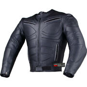 Menand039s Blade Motorcycle Riding Leather Ce Armor Biker Ventilated Jacket Black