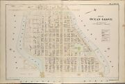 1889 Ocean Grove Monmouth County New Jersey Tabernacle Auditorium Atlas Map
