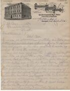 1915 Letter From California Moline Plow Co La To J.b. Case Paradise Valley Nv