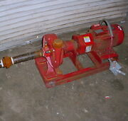Bell And Gossett 1510 Base Mounted End Suction Pump 5hp 100gpm 230/460v 2