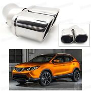 Double Outlets Exhaust Muffler Tip Tailpipe For Nissan Rogue Sport 2017-up 4066