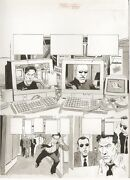 Mad Magazine 384 Six Page Story - La - The Matrix Spoof Art By Angelo Torres