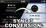 Sync 3 Upgrade For Sync 2 / Myford Touch Mft - W/ Android Auto And Apple Carplay