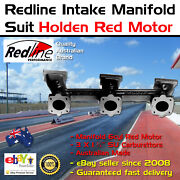 New Intake Inlet Manifold Fits Holden 6 Red Motor 3 X 1¾ Su Carbys 149 186 192