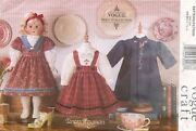 Vogue Doll Heirloom Clothes Pattern 7099 Size 18 Uncut