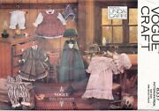Vogue Early American Doll Clothes Pattern 8337 Size 18 Uncut