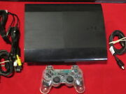 Sony Playstation 3 Super Slim 250 Console System Very Good 0775